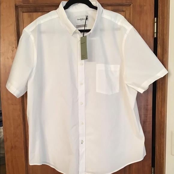 Classroom Uniforms Boys Yellow Long Sleeve Oxford Cloth Button Down Shirt 57652